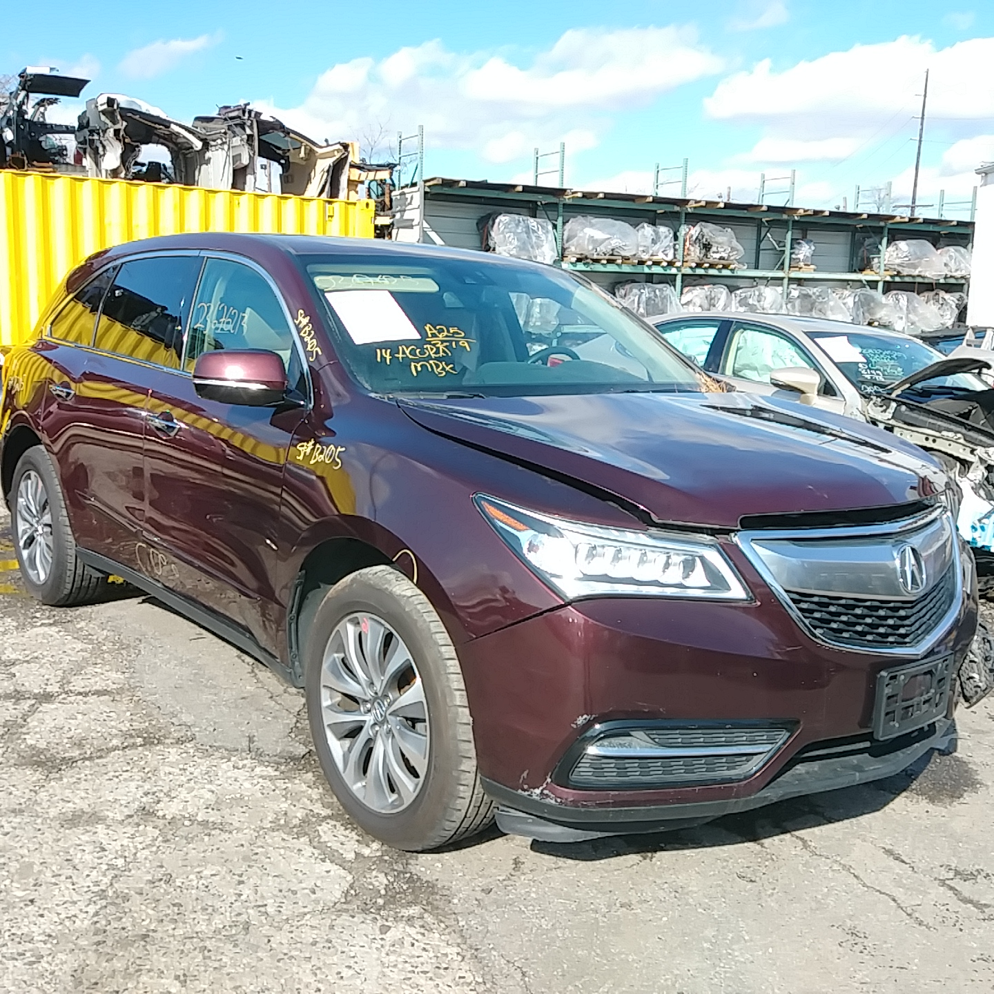 2014 Acura MDX Advanced Stock # B205