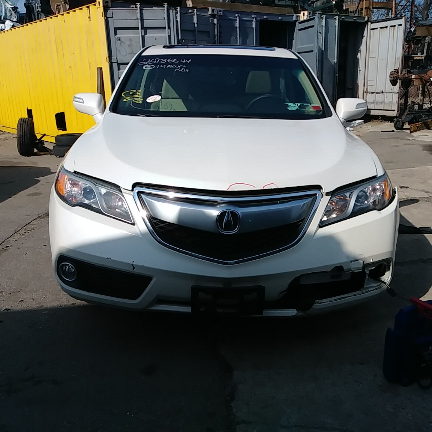 2014 Acura RDX Tech Stock # B743