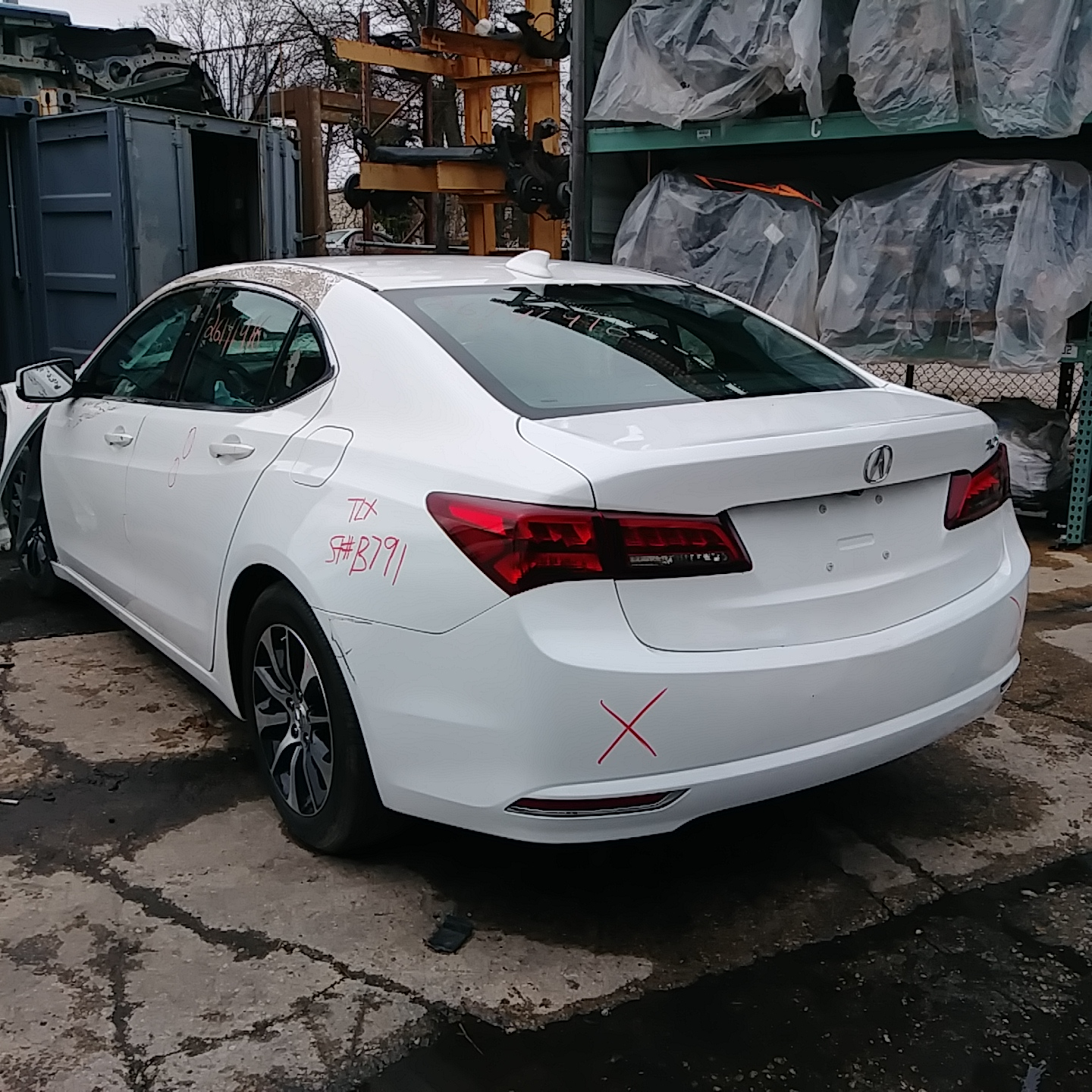 2015 Acura TLX Tech Stock # B791